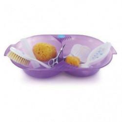 DBB REMOND Set de toilette pour bébé - Violet translucide