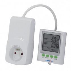 CHACON Compteur de consommation avec écran déporté EcoWatt 6