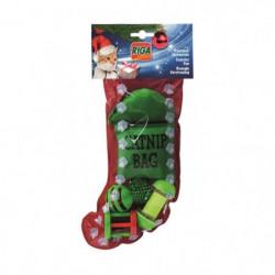 RIGA Bottes de Noël - Vert - Pour chat