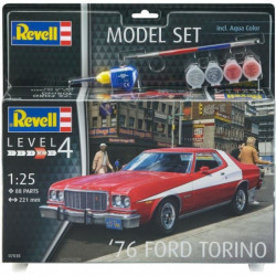 REVELL Maquette Model set Voitures '76 Ford Torino 67038