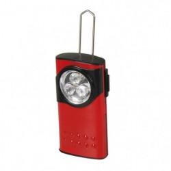 EXPERT LINE Torche extra plate 3 LED métal rouge