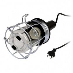 ZENITECH Baladeuse métal filaire 5m 60W pour ampoule E27