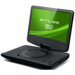 """MUSE M970DP Lecteur DVD portable - Écran 9"""" pivotant a 180°"""