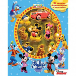 DISNEY MICKEY MOUSE Plus de 10 figurines à ventouse - Livre
