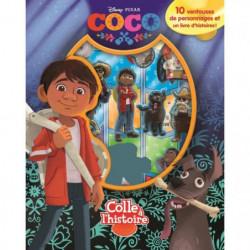 DISNEY/PIXAR COCO Plus de 10 figurines a ventouse - Livre ca