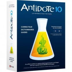 Antidote 10 - Correcteur, dictionnaires et guides