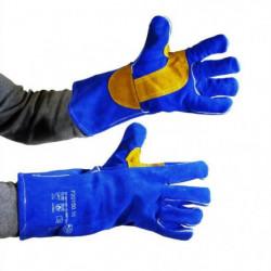 PROWELTEK Gant de soudeur anti-chaleur bricolage doublure co