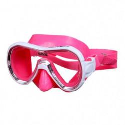 SEAC Masque de plongée Panarea Silter - Médium - Rose