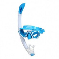 SEAC Masque et Tuba de plongée Bella - Enfant - Bleu