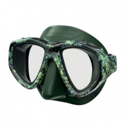 SEAC Masque de plongée One Kama - Silicone - Vert - Haute dé