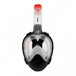 BEUCHAT Masque de Snorkeling - Taille L/XL - Noir
