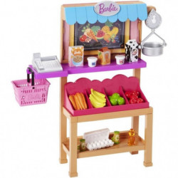 BARBIE - Stand Fruits et Légumes