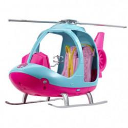 BARBIE - Barbie Hélicoptere - Véhicule de Poupée - Hélicopte