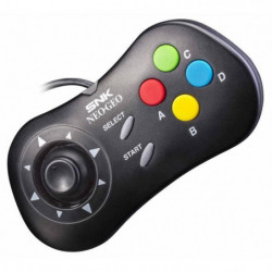 Manette noire Neo Geo Mini