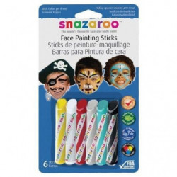 SNAZAROO Sticks peinture pour visage garcons