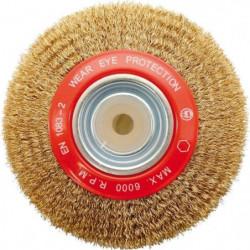 PEUGEOT  Brosse acier laitonné 150x18x32 mm fil 0,30mm
