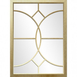 CHIC Miroir contemporain doré - 70 x 50 cm