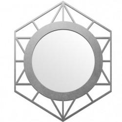 Miroir Cooper Ls - 40 x 50 cm - Gris argenté