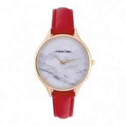 ANDREAS OSTEN Montre Femme Quartz AOS18069  rouge