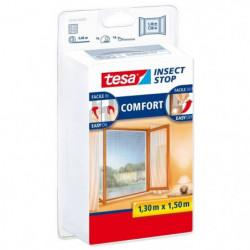 TESA Moustiquaire Comfort pour fenetres - 1,3 m x 1,50 m - B