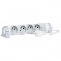 LEGRAND Rallonge multiprise Confort bloc de prises rotatif 4