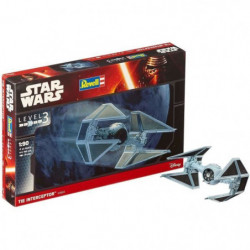 REVELL SW Tie Interceptor 03603 Maquette Star Wars