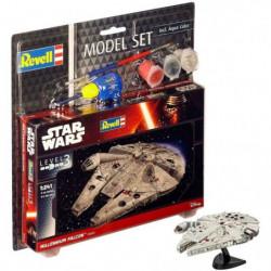 REVELL Maquette Model set Star Wars Millennium Falcon 63600