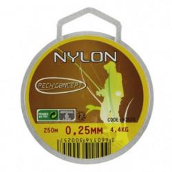 PECH'CONCEPT Nylon Transparent 25/100 250M