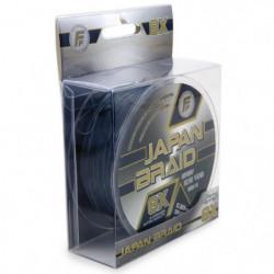 LINEAEFFE Tresse de peche Japan Braid 8X - Gris - Ø 0,20 mm