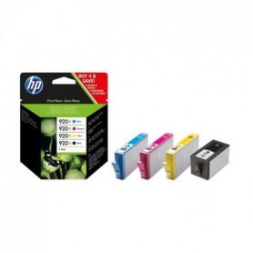 HP 920XL Pack de 4 cartouches Noir, Cyan, Magenta, Jaune