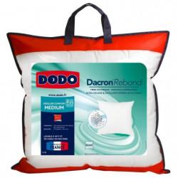 DODO Oreiller DACRON REBOND 60x60 cm blanc