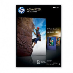 HP Papier photo Q5456A - 25 feuilles A4 - Pack de 1 - Brilla