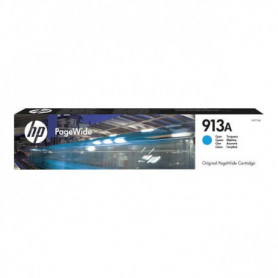 HP Cartouche d'encre 913A - Pack de 1 - Cyan