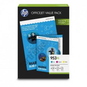 HP 953XL Pack économique  3 cartouches grande capa