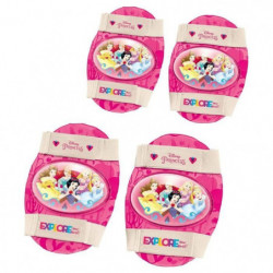 DISNEY PRINCESSES -  Set de Protections : Genouilleres et Co