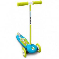 SKIDS CONTROL Trottinette steering - Bleu - 3 roues