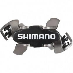 SHIMANO Paires de pédales M520 - Noir