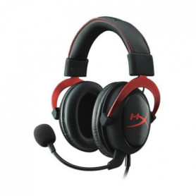 HyperX Micro-Casque Gamer Cloud II Filaire Rouge