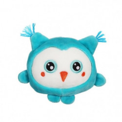 """GIPSY TOYS Squishimals 10 cm chouette bleue """"Hooty"""""""