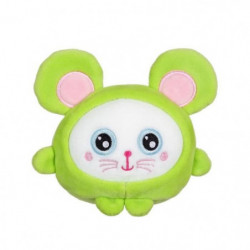 "GIPSY TOYS Squishimals 10 cm souris verte ""Squeeky"""