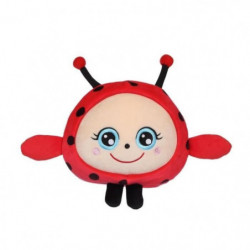 "GIPSY TOYS Squishimals 20 cm coccinelle rouge ""Dotty"""