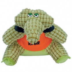 ZEUS Peluche Bomber Crusher Crocodile L - Vert et orange - P