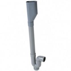WIRQUIN Siphon double crosse SP5003 - PVC - Machine a laver