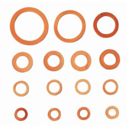 WIRQUIN Coffret de 14 joints cuir JJP1000C