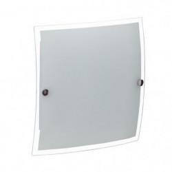 BRILLIANT Plafonnier Basic led intégrée - Blanc