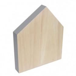ECO DESIGN A1240 Planche a découper House - 22 x 19 cm - Nat
