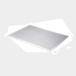 DE BUYER Plaque aluminium perforée plate - 40 x 30 cm - Gris