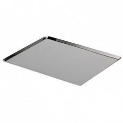 DE BUYER Plaque rectangulaire - Inox - L 40 x l 30 cm