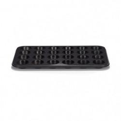 PATISSE Plaque a muffins antiadhésif en acier revetu - 24 ca