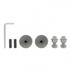 ALPERTEC Kit de fixation pour toutes barres de tirage - Fixa